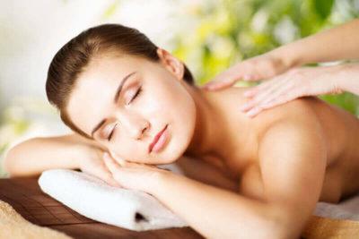 Massagen machen glücklich