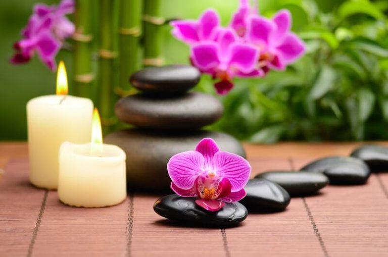 Entspannen durch Selbstmassage