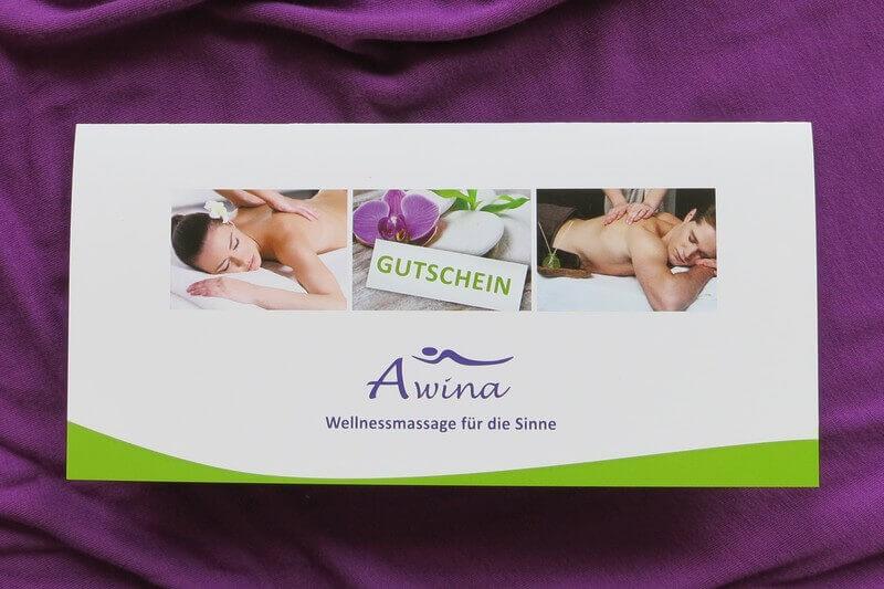 Massagegutschein, Massage München, Wellnessmassage, Massagegutscheine München