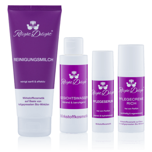 Relight Delight Naturkosmetik Gesichtspflege parfümfrei