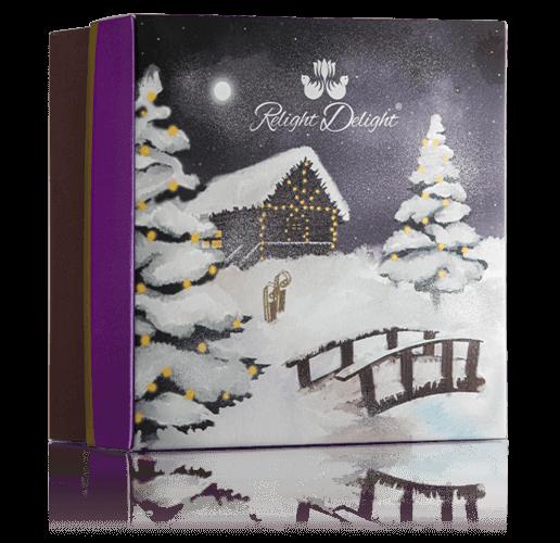 Relight Delight Weihnachtsgeschenkbox, Weihnachtsgeschenk Naturkosmetik