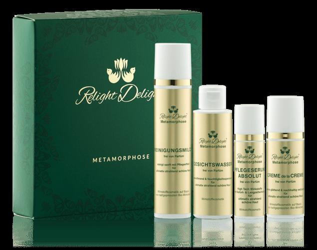 Relight Delight Naturkosmetik Metamorphose Gesicht Set parfümfrei